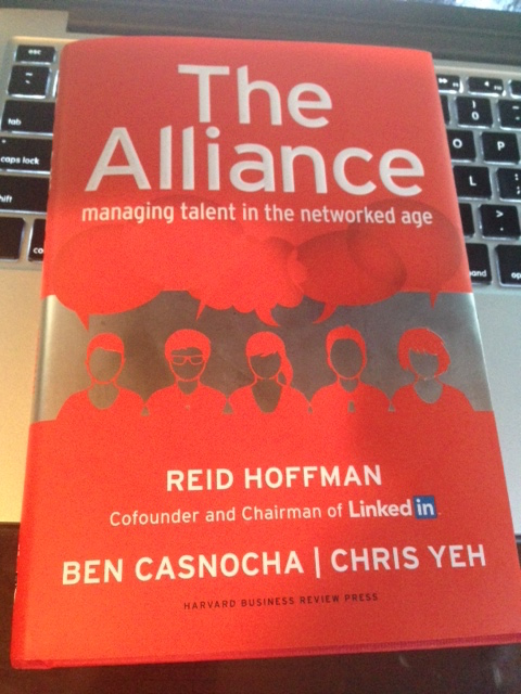 My copy of The Alliance