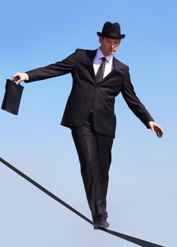 Walkin' the Tightrope!